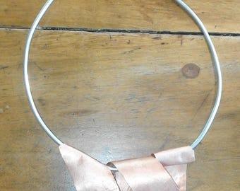 Aluminium and copper neck