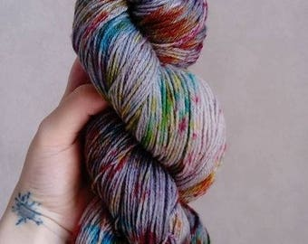 """Grey et Cie"" bamboo Merino hand dyed wool"