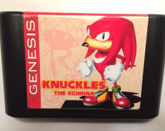 Knuckles the Echidna Game for Sega Genesis