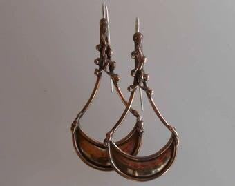 Earrings bronze earrings 0027