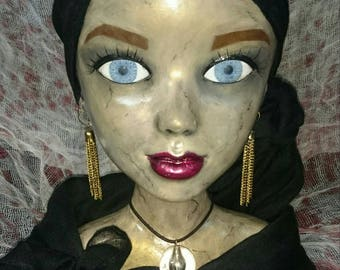 Creepy Fortune Teller Prop Halloween