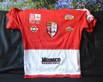 Vintage Monaco Grand Prix jersey