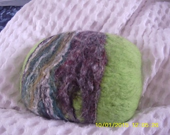 5 Felted soap savers (abstract patterns)