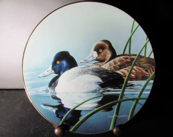 The Federal Duck Stamp Plate 'The Lesser Scaup' 1990