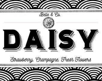 DAISY The Great Gatsby Inspired Bookish Candle