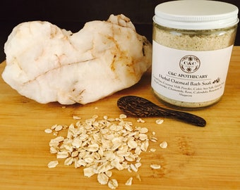 Herbal Oatmeal Bath Soak (Vegan)