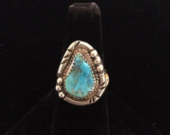 Triangle shapped turquoise