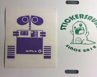 Wall-E in Purple
