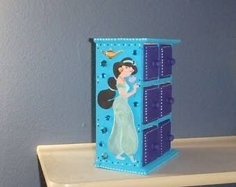 Jasmine Personalized Jewelry Keepsake Box