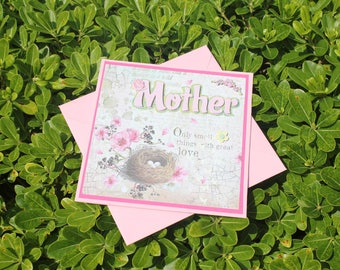 Greeting card for mother