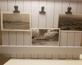 1940s postcards on photographs