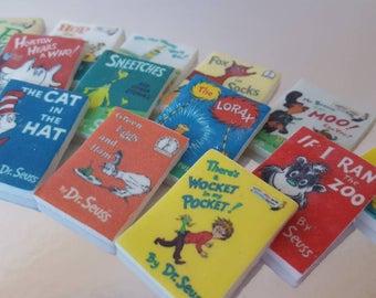 Dr. Seuss Books Edible Fondant Toppers