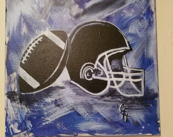 Canvas Painting-Football