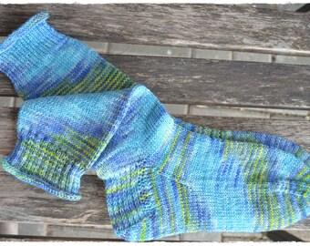 Socks women's size UK 4,5-5 / US 7, knit by hand