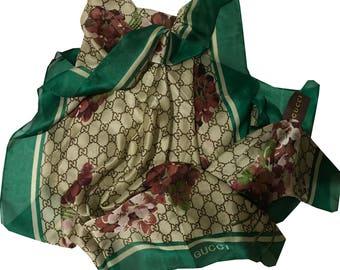 Bundle Deal Designer Floral Silk Scarves