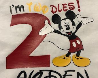 Disney Mickey Birthday Shirt