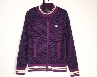 Free Shipping Vintage 90s KAPPA Zipper sweatshirt