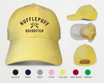Hufflepuff Quidditch 1092 Baseball Caps Harry Potter Hat Hufflepuff Caps