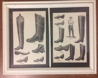 Vintage 1800s Boots