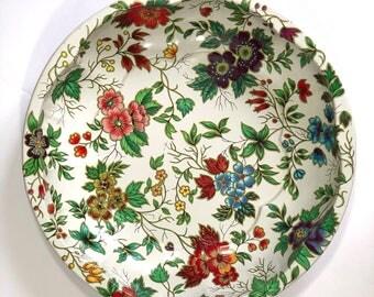 Vintage Cream Tin Daher Bowl