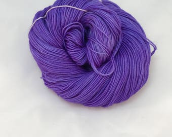 Purple People Eater - Hand Dyed Yarn - Dyed To Order