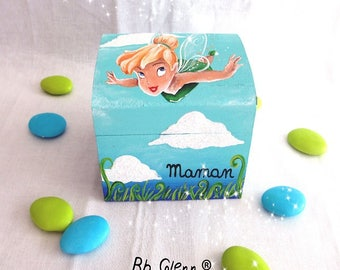 "Box dragees, baptism ""Tinkerbell"""