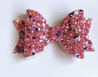 Medium tutti frutti Dolly bow