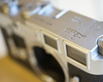 Leica M3 Silver Body