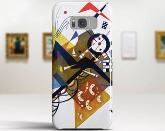 "Wassily Kandinsky, ""On White II"".Samsung Galaxy S8 Plus Case LG V30 case Google Pixel Case Galaxy A5 2017 Case. Art phone cases."