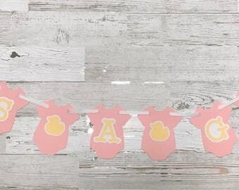 Baby Shower Banner | It's a Boy Banner | It's a Girl Banner