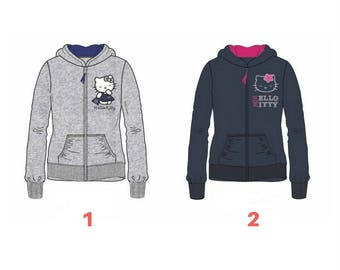 Hello Kitty Hoodie size 6 years (116 cm) baby color 1