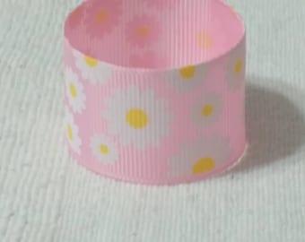 8  חבקי מפיות ורודים בדוגמא פרחונית*  Pink Floral Napkin Rings