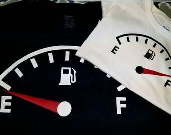 Parent/Child fuel tank shirts