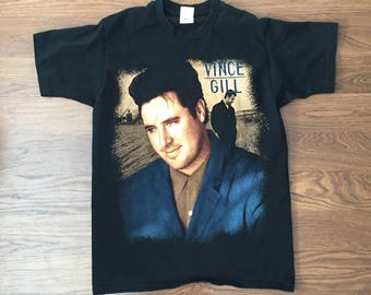 90's Vince Gill Tour T Shirt