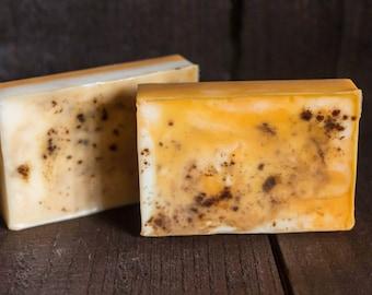 Pumpkin Pie Soap Bar, goats milk soap, seasonal soap, pumpkin soap, pumpkin, soap, fall soap, soap bars