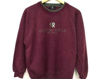 Rare !! Vintage 90's HIROMI ROSSI Sweatshirt