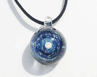 -1 star for you. Glass pendant universe [free shipping]