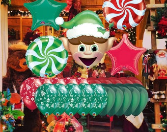 Holiday Elf Balloons
