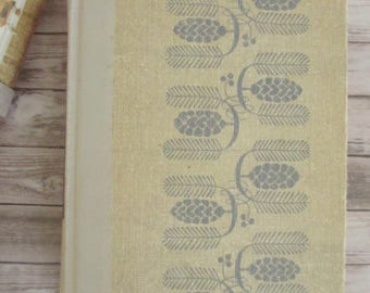 1 Reader's Digest Condensed Book From the Winter 1954 Selections /  Beautiful Old Books / Vintage Books / Old Fashioned Books / Pretty Books