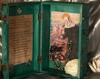 St. Martha Altar Shrine Box