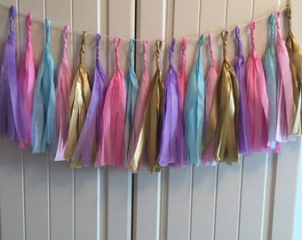 Mermaid theme garland