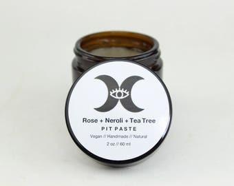 Rose + Neroli + Tea Tree Pit Paste