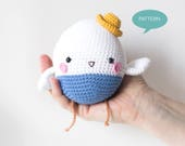 Crochet pattern Bluebird Amigurumi, Amigurumi pattern bluebird, crochet tutorial bird, Stuffed Animal crochet pattern Bird
