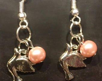 Dovely Pink Earrings