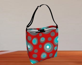 Gift For Her, Shoulder Bag, Purse, Bag, Handbag, Cross Body Bag, Mom Gift, Everyday Tote, Crossbody Purse, Waterproof, Neoprene, Tote Bag