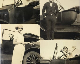 "1910-20s | ""New Car"" Photograph 
