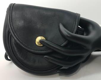 1990's | Vintage Coach Crossbody | x-small purse