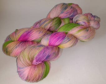 Is It Wicked Not To Care?- Belle and Sebastian 100g Superwash Merino Sock