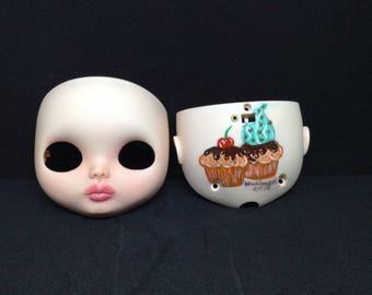 Blythe Custom Doll Faceplate