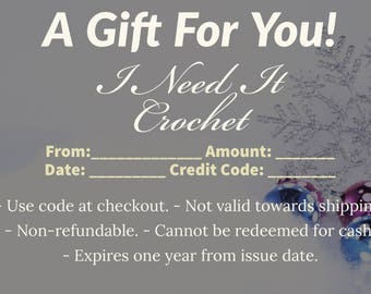 Gift Card, Gift Certificate, Gift